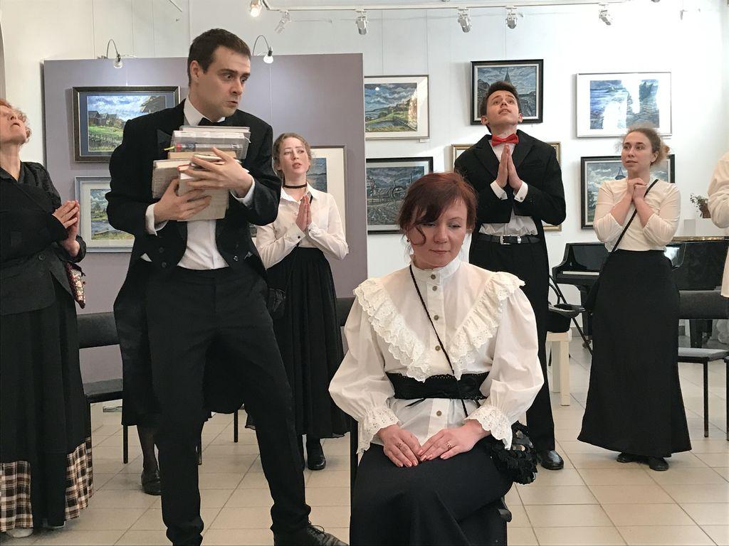 «Жены артистов» А.П. Чехов постановка коллектива «Тоже театр»