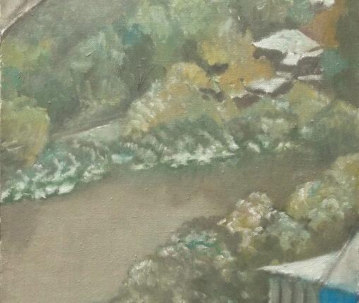 В Покров на Яузе.2007 х.м.100х50