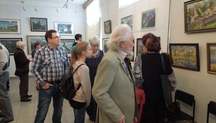 Выставка Марины Любимовой 6