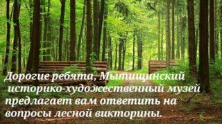 1. Какого типа лесам принадлежит половина лесной зоны мира? 2. Продолжите фразу: Березовый лес обычно называют.. Сосновый лес принято называть.. Густой, частый лес, заросль нередко называют.. 3. Что такое смешанный лес? Смешение тропических и хвойных лесов Смешение реликтовых и обычных деревьев Смешение хвойных и лиственных древесных пород 4. Продолжите пословицу: «Лес рубят — ...» «В лес не съездишь — …» «Возле лесу жить – …». 5.Кто такой лесной дух, хозяин леса в мифологических представлениях славянских народов? Домовой Водяной Леший 6. Из чего состоит лес? Из деревьев, растительности, кустарников, трав, папоротников Из грибов и ягод Из цветов, ёлок, пней 7. Что такое валежник? Рухнувшие на землю стволы деревьев или их составляющие: сучья, ветви, свежие и гниющие Лес, который валят лесники Лес, используемый для строительства домов 8. Картины каких художников, где изображен лес, вы знаете? Подробнее читайте на сайте Мытищинского-историко художественного музея:https://mytyshimuseum.ru/ #Мытищи #Мытищинскиймузей #ГородМытищиИстория #мытищимузей #культураонлайн #култьмо #мытищилайф #нашеподмосковье #культураМО #museum #museum586 #mytishi #mytishicity #mytishilife #мытищисити #история #history #проект #project #МЫТИЩИ2021 #Мытищинскийокруг #городМытищи #леснаявикторина #лес #forest #forestquiz #woods