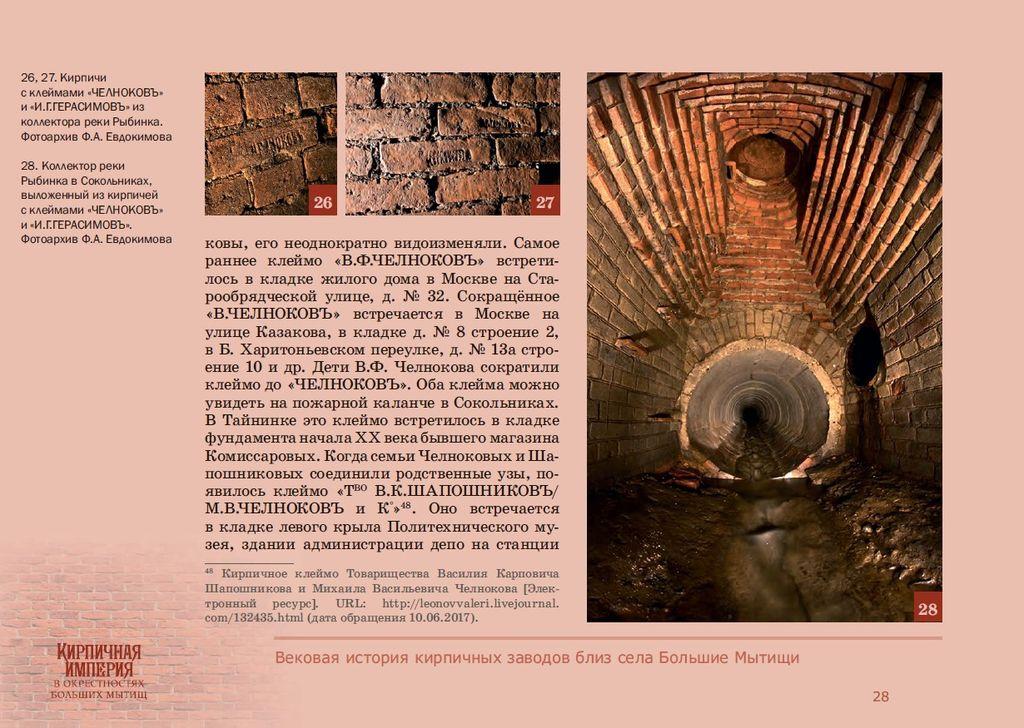 Презентация книги Валентины Петровны Блохиной «Кирпичная империя в окрестностях Больших Мытищ»